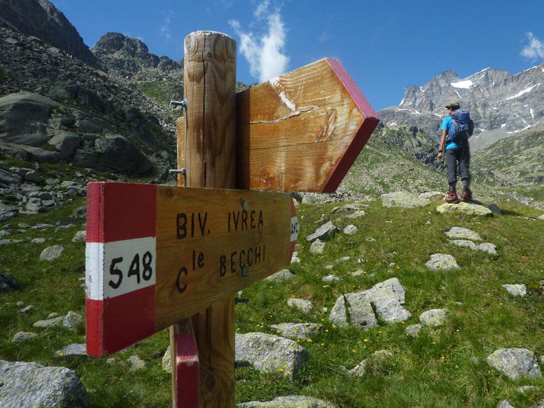 sentieri in piemonte, escursione al gran paradiso da ...